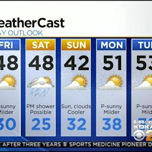 KDKA-TV Morning Forecast (3/7)