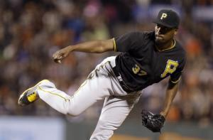 McCutchen leads Pirates past Giants, 7-4