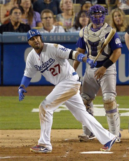 Kemp's 2 HRs push Dodgers within 2 of NL wild card