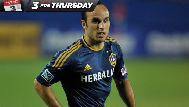 Three for Thursday: Why Landon Donovan and the LA Galaxy need to get a new deal done