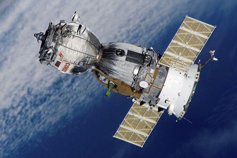 Watch a Soyuz capsule dock with the International Space Station