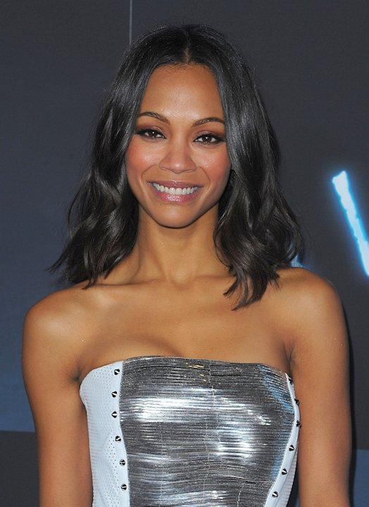 Avatar LA Premiere 2009 Zoe Saldana
