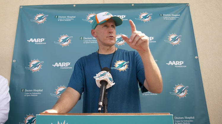Dolphins' credo on T-shirts after bullying scandal
