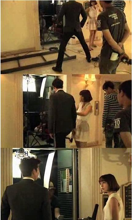 'Big' Gong Yoo Exhibits Manner Legs for Lee Min Jung
