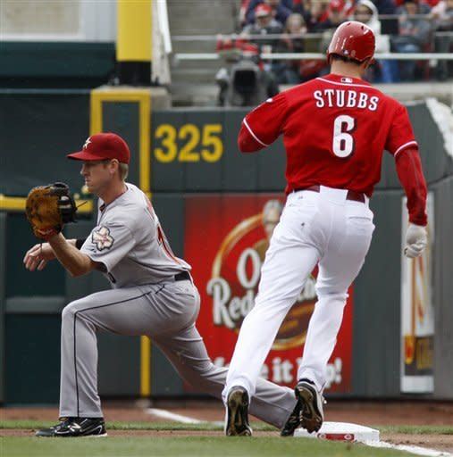 Bruce, Cueto lead Reds to 6-0 win over Astros
