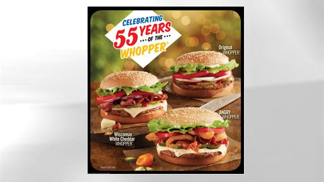 Burger King Celebrates 55th Anniversary of the Whopper