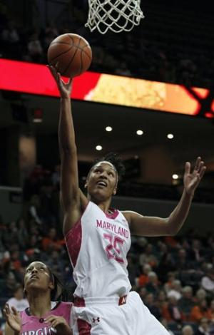 Thomas' 27 lead No. 7 Maryland women past UVA