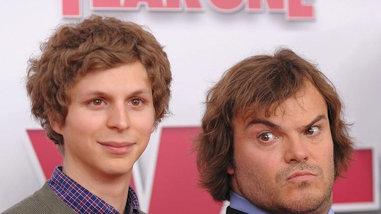 Year One NY Premiere 2009 Michael Cera Jack Black