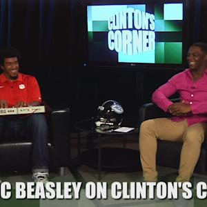 Beasley as Beethoven on Clinton's Corner