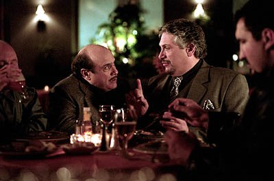 Danny DeVito and Harvey Fierstein in Warner Brothers' Death To Smoochy