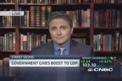 Government gives boost to GDP