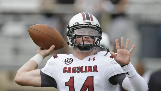 Injured Gamecocks QB Shaw out at least 2 weeks