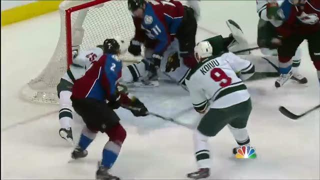 How did Colorado Avalanche's first goal count vs. Wild in Game …