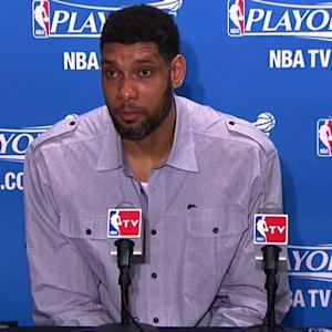 Duncan on Spurs Game 5 win