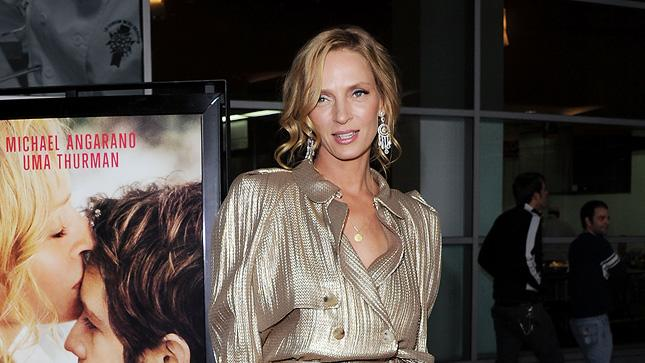 Ceremony LA Premiere 2011 Uma Thurman