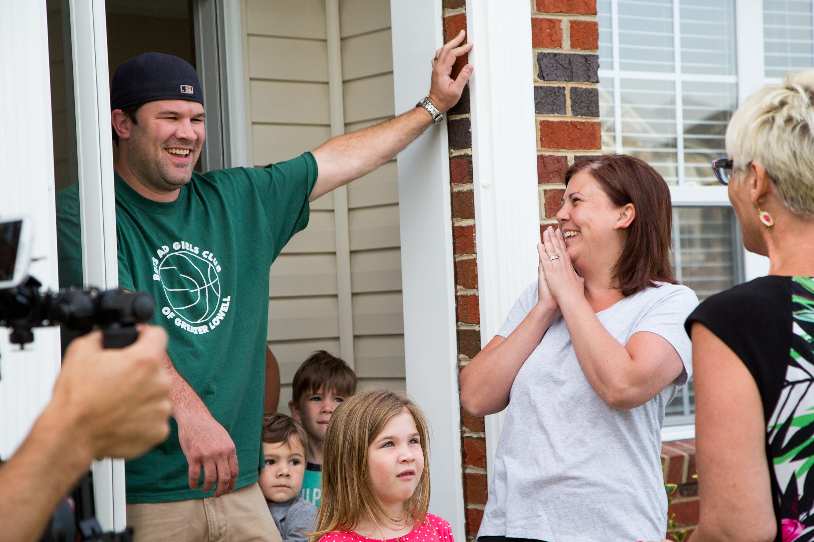 Sealy and Sears surprised new homeowners with a first night they will never forget.