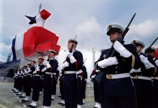 French aircraft carrier Charles de Gaulle Reuters 1994 Inauguration