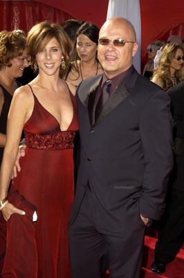 Michael Chiklis and wife 55th Annual Emmy Awards - 9/21/2003