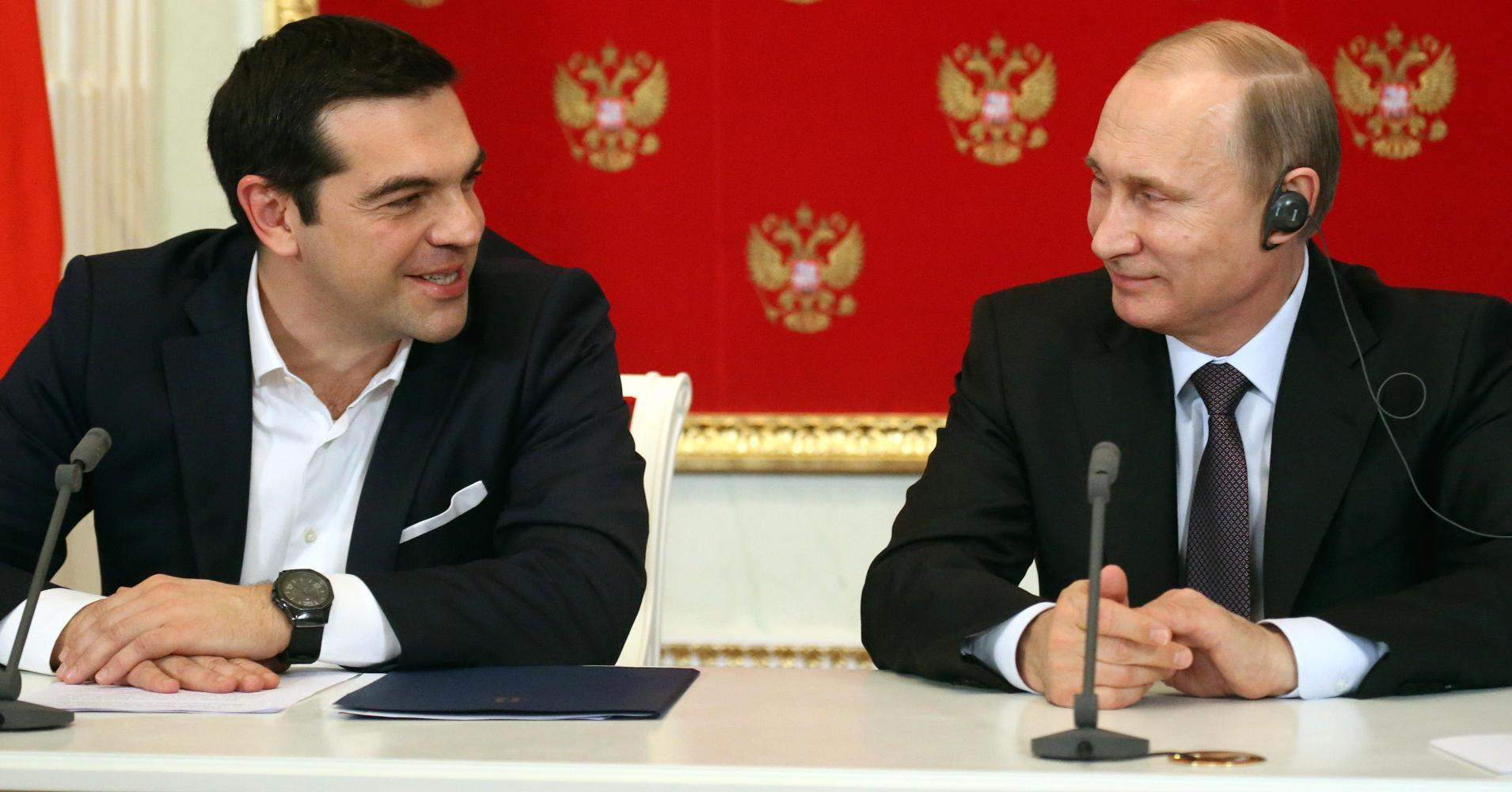 Why is Greece flirting with the Russians?
