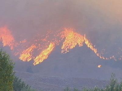 Firefighters: Massive Idaho Blaze Slowing Down