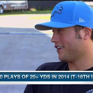 Detroit Lions quarterback Matthew Stafford: 'I need to make sure I stay aggressive'