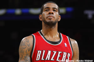 Dose: Aldridge Takes Hard Fall