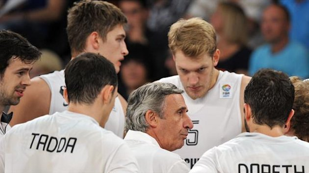 Svetislav Pesic & German National-Team 2012