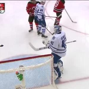 Jonathan Bernier Save on Andy Greene (08:28/3rd)
