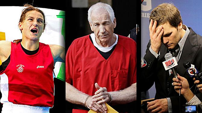 2012 Year in Review: Dan Wetzel's year in columns features Katie Taylor, Jerry Sandusky and Tom Brady