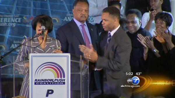 ABC 7 Exclusive: Jackson Jr. makes first public appearance in months