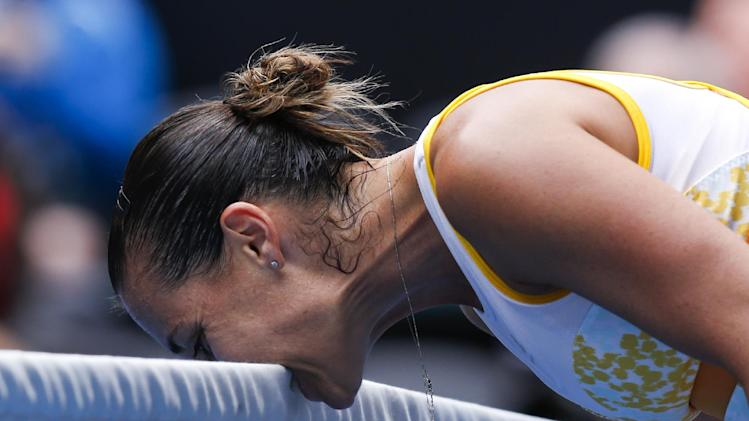 Ivanovic ends Williams' streak in Australian upset