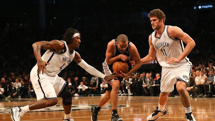 NBA: San Antonio Spurs at Brooklyn Nets