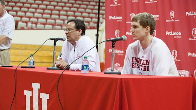 NCAA Basketball: Indiana University-Cody Zeller Press Conference