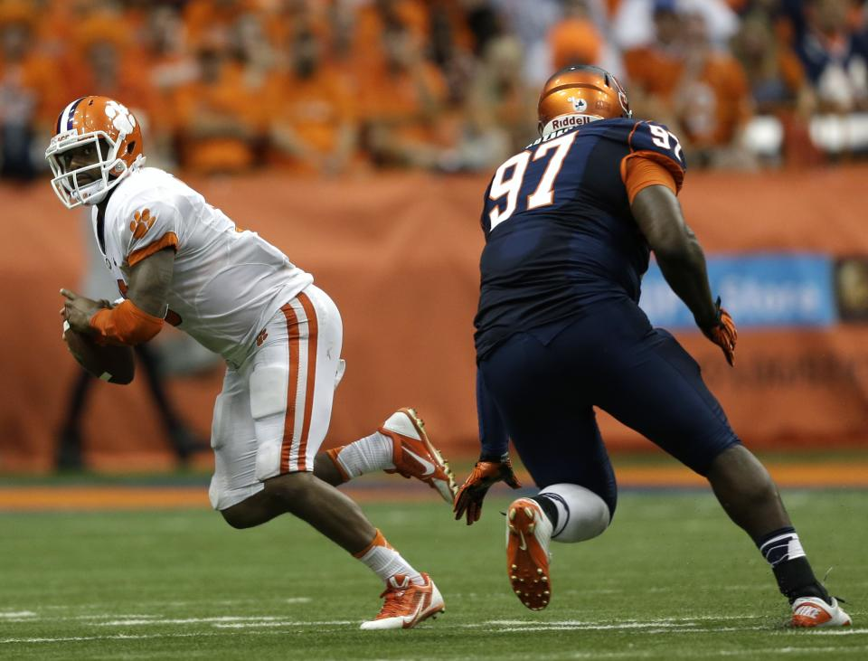 Clemson's Tajh Boyd: virtually unstoppable