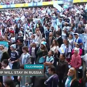 FIFA LETS RUSSIA KEEP THE 2018 WORLD CUP