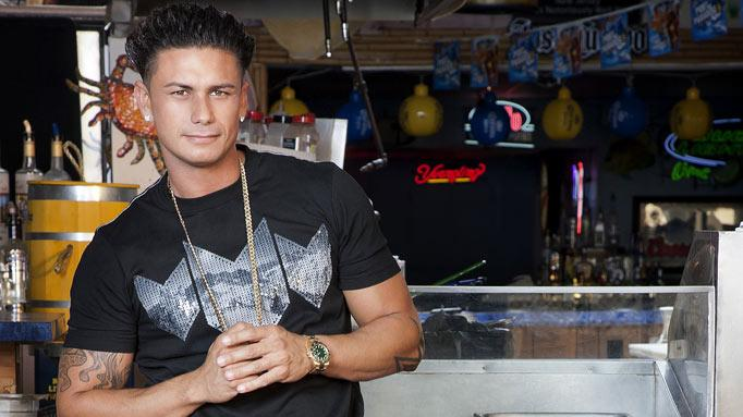 "Paul ""DJ Pauly D"" DelVecchio back in Seaside, NJ for Season 5 of ""Jersey Shore."""