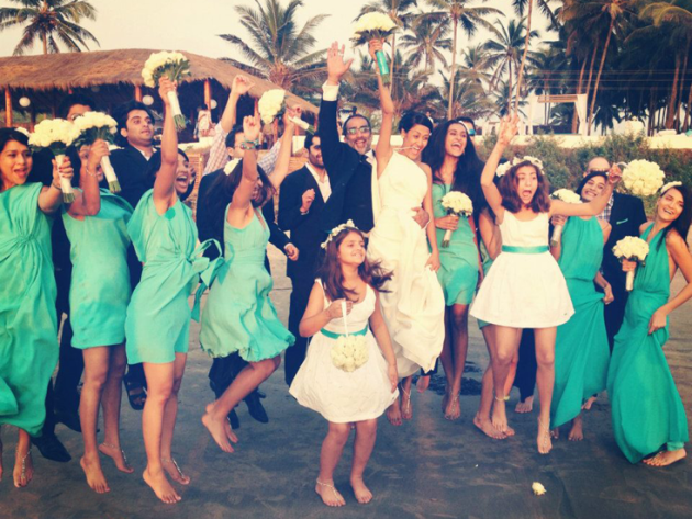 The Hottest 'Model' Weddings of 2013