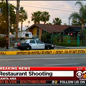 1 Dead, 4 Injured After Shooting At Santa Ana Restaurant