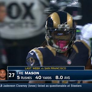 Week 7: St. Louis Rams running back Tre Mason highlights