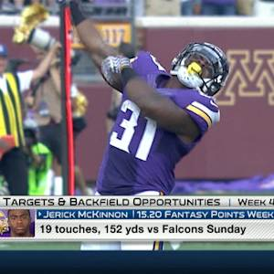 'NFL Fantasy Live': Targets and Backfield opportunities