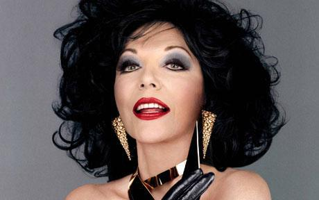 "Alexis Colby on ""Dynasty,"" played by Joan Collins"