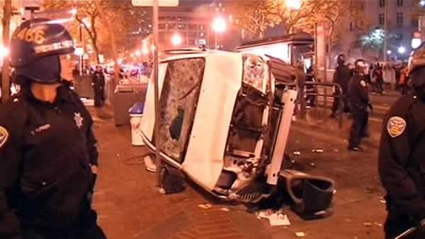 35 arrested during World Series celebrations in SF