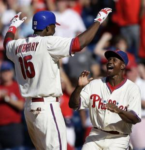 Phillies win nightcap 7-4 for DH sweep of Rockies