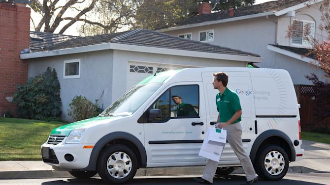 Google to deliver goods quickly to online shoppers