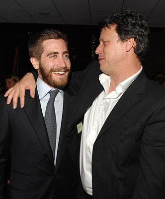 Director Gavin Hood and Jake Gyllenhaal at the Los Angeles premiere of New Line Cinema's Rendition