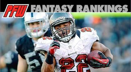 Week 10 RB rankings