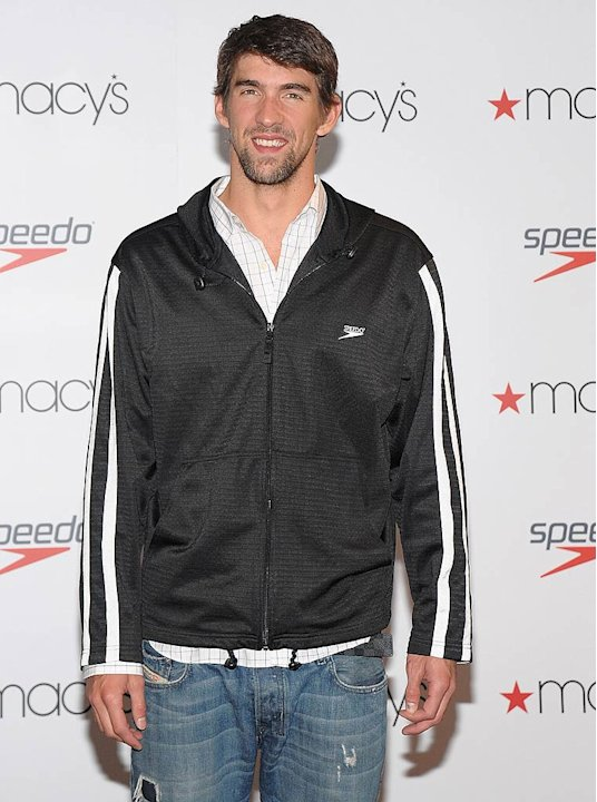 Michael Phelps MacysNY