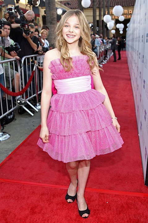 500 Days of Summer LA premiere 2009 Chloe Moretz