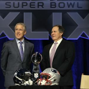 Carroll, Belichick Talk Final Super Bowl Preps