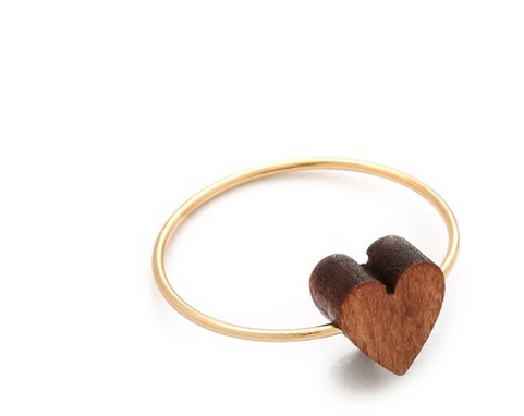 Jules Smith Nature's Heart Ring